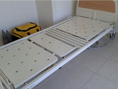 Adjustable Hospital Bed with Extras