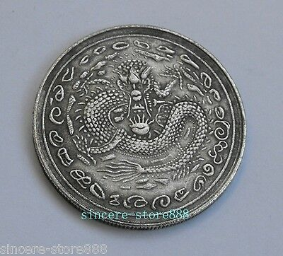 Free shipping Feng Shui Chinese Dragon Lucky Coins Qing Cixi Queen for Fortune