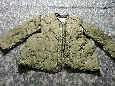Us Army Field Jacket Liner Large Military For M65 Coat