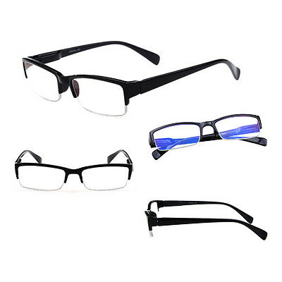 Hot Men +1.0 To +4.0 Women Reading Glasses Half-frame Design 4 Colors
