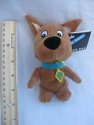 "1999 6"" SCRAPPY DOO plush BEAN BAG Warner Bros SCOOBY DOO Mint with hang tag!"