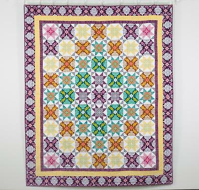 "FreeSpirit - True Colours Quilt Kit - Size 74"" x 90"" - Joel Dewberry !!!"
