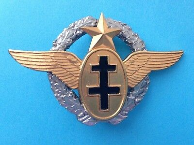 Wwii  Free-French Air Force Pilot Badge