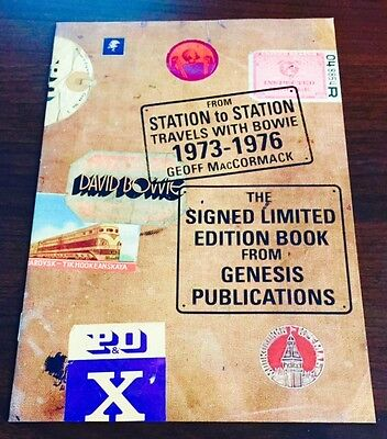 FROM STATION TO STATION-GENESIS PUBLICATIONS-Promo Brochure-David Bowie