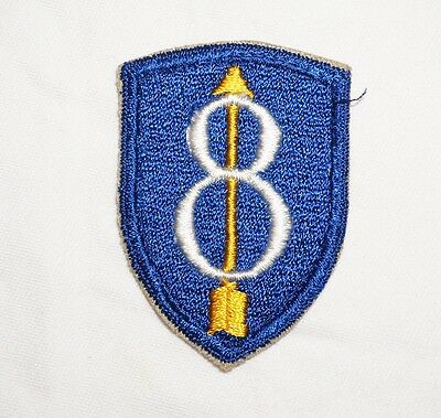 8th Infantry Division German Made Patch Post WWII US Army P1619