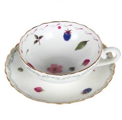 Breakfast Afternoon Tea Set/  Cup And Saucer/ Fruit Pattern