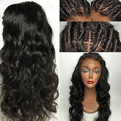 Eva Hair Full Lace Human Hair Wigs For Black Women Brazilian Virgin Hair Wig