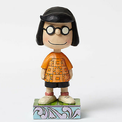 Peanuts Modest Marcie Figurine by Jim Shore Personality Pose