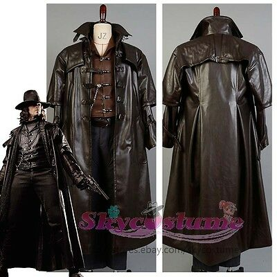 Van Helsing Hunter of Monsters Kutscher Mantel Cosplay Kostüm costume Karneval