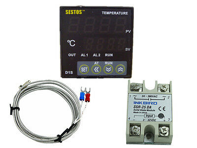 D1S-VR-220 Sestos Digital Pid Temperature Controller temp heating cooling heat