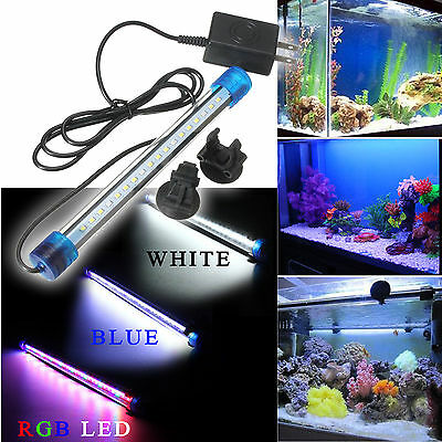 LED étanche Aquarium Lampe D'eclairage Aquarium Submersible Tropical Décoration