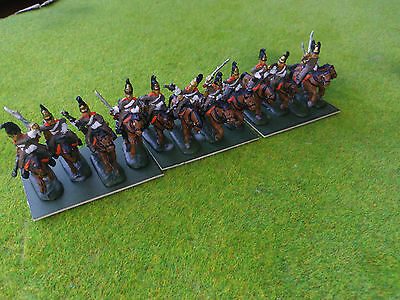1/72 20mm painted Napoleonic Russian Dragoons
