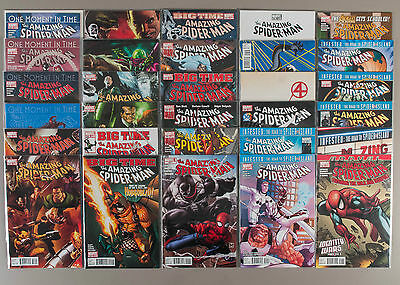 Amazing Spider-Man #638-665 + Annual, Full Run (V2), Lot of 30, compl. VF+ set