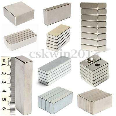Neodymium Magnets Rare Earth NdFeB N52 Square Block Magnets Strong Craft Magnet