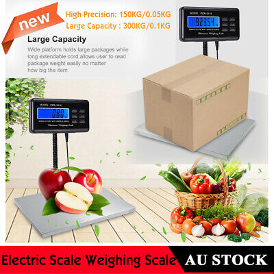 Heavy Duty Digital Platform Parcel Postal Scale Industrial Scales Weighing 300kg