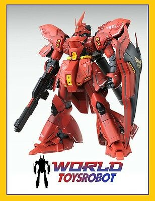Bandai Gunpla Master Grade Model Kit Mobile Suit Mg Sazabi Msn-04 Ver. Ka 1/100