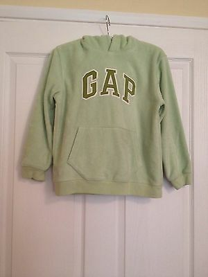Gap Age 10 cosy, excellent Fleece Hoody. Perfect condition. Beautiful green