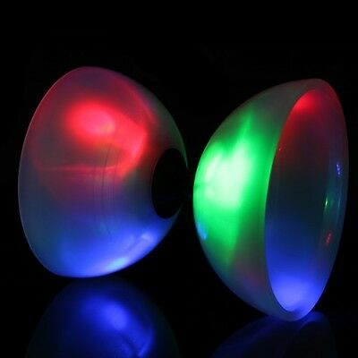 Juggle Dream Big Top Bearing LED Diabolo - Kids Bearing LED Diablo - No Sticks