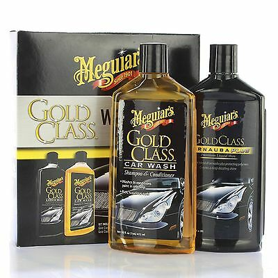 meguiars gold class wash wax car care kit autoshampoo. Black Bedroom Furniture Sets. Home Design Ideas