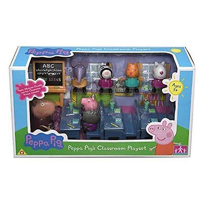 Peppa Pig Classroom Play Set 7 Characters (Toys) (New)