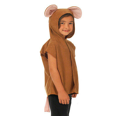 Brown Mouse costume for kids. One size 3-9 years.