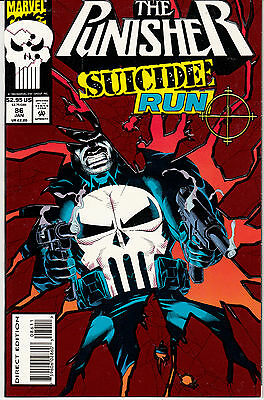 The Punisher #86 (Jan 1994, Marvel) Suicide Run