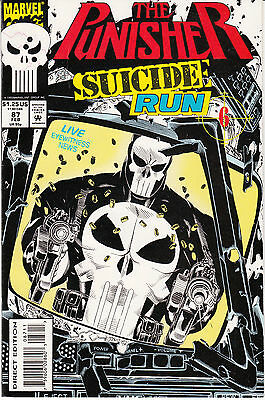 The Punisher #87 (Feb 1994, Marvel) Suicide Run