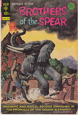 Brothers of the Spear #9 (Jun 1974, Western Publishing)