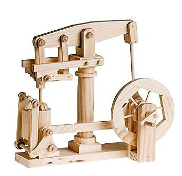 Timberkits Beam Engine Construction Moving Model Kit Wooden DIY Self Assembly