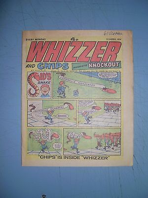 Whizzer and Chips issue dated April 13 1974