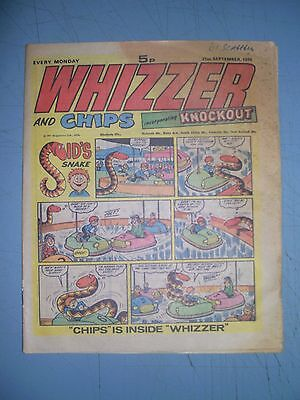 Whizzer and Chips issue dated September 21 1974
