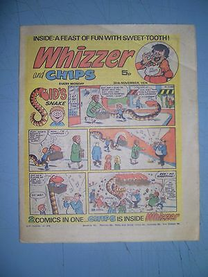 Whizzer and Chips issue dated November 30 1974