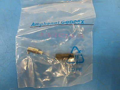 Amphenol 142178-75 MINI 75 OHM SMB Crimp Plug ~Lot Of 50~