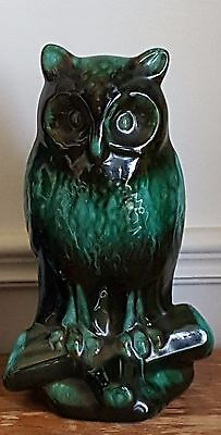 Blue Mountain Pottery Owl 10 inches tall