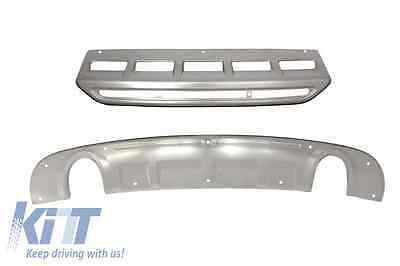 Audi Q5 8R 13-16 Facelift Front Rear Bumper Skid Plates Off-Road Body Kit