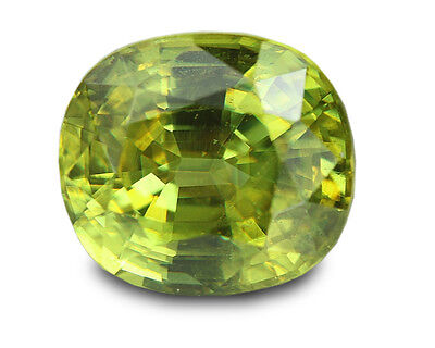 2.08 Carats Natural Madagascar Sphene Loose Gemstone - Oval