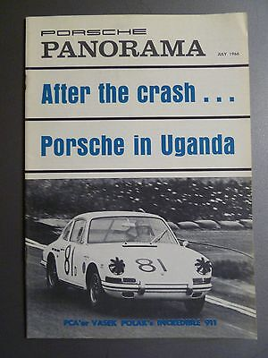 1966 Porsche PCA Panorama Magazine Vol#XI #7July 1966 RARE!! Awesome L@@K