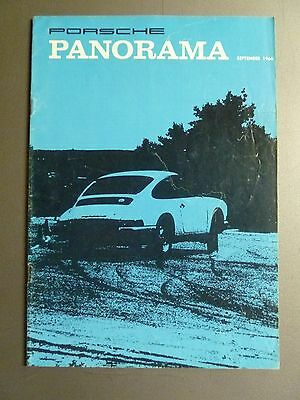 1966 Porsche PCA Panorama Magazine Vol#XI #9 September 1966 RARE!! Awesome L@@K