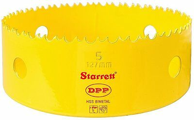 "Starrett DH0500 5"" Bi-Metal Dual Pitch Professional Hole Saw"