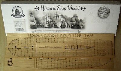 Revell USS Constitution - wood deck for modell, 1:96