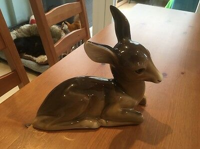 Vintage 1940s W.R. Midwinter Burslem China Deer / Fawn / Doe / Bambi Midcentury