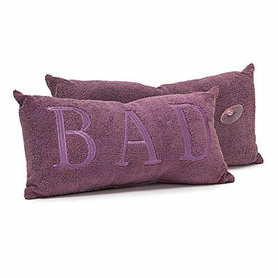 Relaxdays 10019241 Agnes Bathtub Cushion 37 x 18 cm Pillow Neck Pillow with Cup