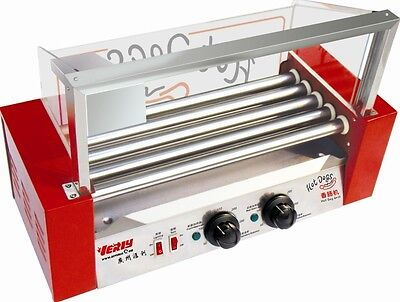 Commercial Hot Dog Broiler (5 Rods) Sausages Machine
