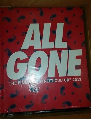 All Gone 2012 The Finest Of Street Culture Hard Cover Lamjc Rare Limited To 750