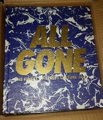 All Gone 2013 The Finest Of Street Culture Hard Cover Lamjc Rare Limited To 1000