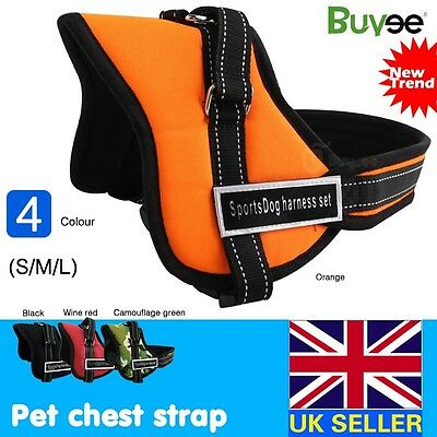 Hot Sell Adjustable Soft Padded Non Pull Dog Harness Vest - Small Medium Large