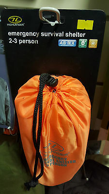 BNIB 2-3 Person Emergency Survival Shelter AbTex