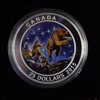 2015 $25 Fine Silver Coin Star Charts The Great Ascent