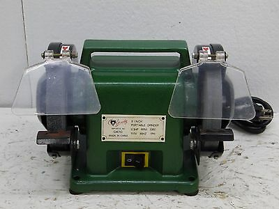 Grizzly G4010 portable 1/3 HP Bench Grinder, 6-Inch