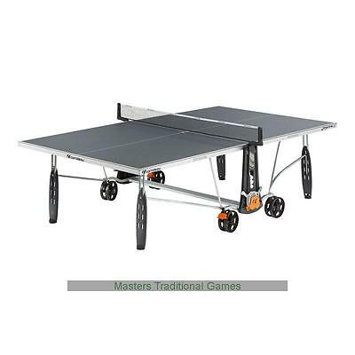 Cornilleau Sport 250S Outdoor Crossover Table Tennis Table - Grey